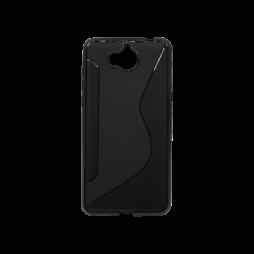 Huawei Y6 (2017) / Y5 (2017) - Gumiran ovitek (TPU) - črn CS-Type