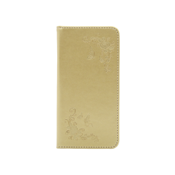 Samsung Galaxy A5 (2017) - Preklopna torbica (WLGO-Butterfly) - zlata