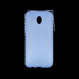 Samsung Galaxy J5 (2017) - Gumiran ovitek (TPU) - modro-prosojen CS-Type