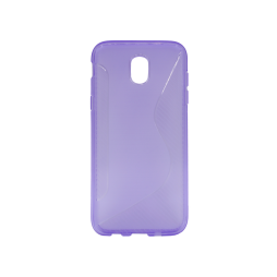 Samsung Galaxy J5 (2017) - Gumiran ovitek (TPU) - vijolično-prosojen CS-Type
