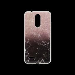LG K10 (2017) - Gumiran ovitek (TPUP) - Marble 1