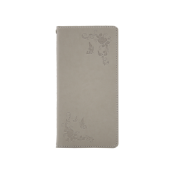 Sony Xperia L1 - Preklopna torbica (WLGO-Butterfly) - siva