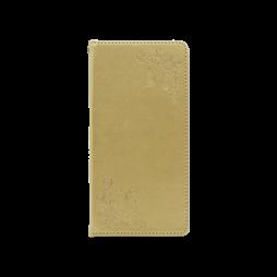 Sony Xperia L1 - Preklopna torbica (WLGO-Butterfly) - zlata