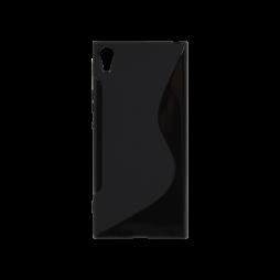 Sony Xperia XA1 Ultra - Gumiran ovitek (TPU) - črn SLine