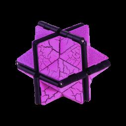Fidget neskončna magična kocka (HEX) - vijolična
