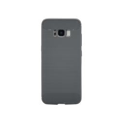 Samsung Galaxy S8 - Gumiran ovitek (TPU) - siv A-Type