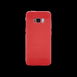 Samsung Galaxy S8+ - Gumiran ovitek (TPU) - rdeč A-Type