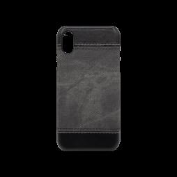 Apple iPhone X - Okrasni pokrovček (TPL) -  temno siv