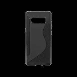 Samsung Galaxy Note 8 - Gumiran ovitek (TPU) - črn CS-Type