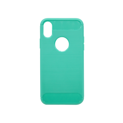 Apple iPhone X / XS - Gumiran ovitek (TPU) - zelen A-Type