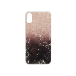 Apple iPhone X / XS - Gumiran ovitek (TPUP) - Marble 1