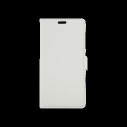 Huawei P9 Lite mini - Preklopna torbica (WLG) - bela
