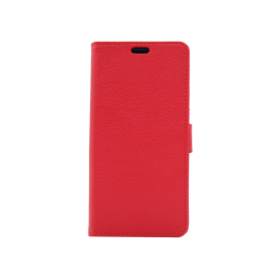 Huawei P9 Lite mini - Preklopna torbica (WLG) - rdeča