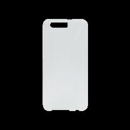 Huawei Honor 9 - Gumiran ovitek (TPU) - belo-prosojen CS-Type