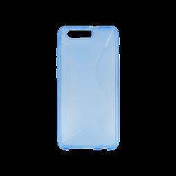 Huawei Honor 9 - Gumiran ovitek (TPU) - modro-prosojen CS-Type