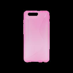 Huawei Honor 9 - Gumiran ovitek (TPU) - roza-prosojen CS-Type