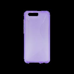 Huawei Honor 9 - Gumiran ovitek (TPU) - vijolično-prosojen CS-Type