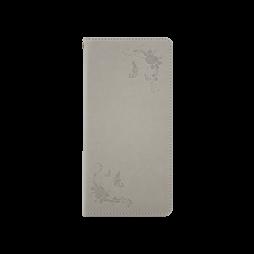Samsung Galaxy Note 8 - Preklopna torbica (WLGO-Butterfly) - siva