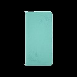 Samsung Galaxy Note 8 - Preklopna torbica (WLGO-Butterfly) - zelena
