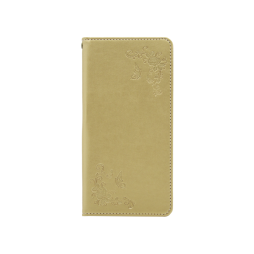 Samsung Galaxy Note 8 - Preklopna torbica (WLGO-Butterfly) - zlata