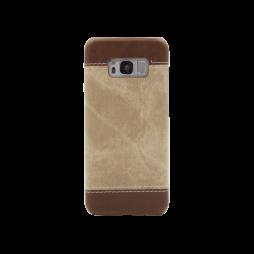 Samsung Galaxy S8+ - Okrasni pokrovček (TPL) - rjav