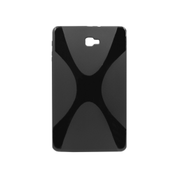 Samsung Galaxy Tab A 10.1 (2016). - Gumiran ovitek (TPU) - črn XLine