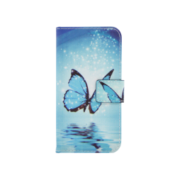 Apple iPhone X / XS - Preklopna torbica (WLGP) - Blue Butterfly
