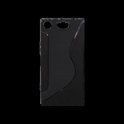 Sony Xperia XZ1 Compact - Gumiran ovitek (TPU) - črn CS-Type