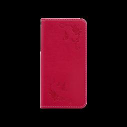 Samsung Galaxy J3 (2017) - Preklopna torbica (WLGO-Butterfly) - rdeča