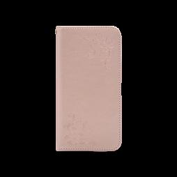 Samsung Galaxy J3 (2017) - Preklopna torbica (WLGO-Butterfly) - roza-zlata