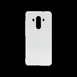 Huawei Mate 10 Pro - Gumiran ovitek (TPU) - belo-prosojen svetleč