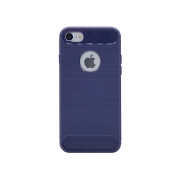 Apple iPhone 7/8 - Gumiran ovitek (TPU) - moder A-Type