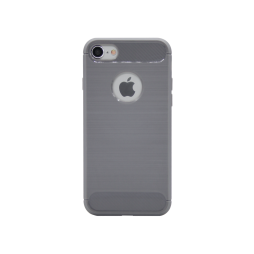 Apple iPhone 7/8 - Gumiran ovitek (TPU) - siv A-Type