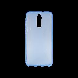 Huawei Mate 10 Lite - Gumiran ovitek (TPU) - modro-prosojen CS-Type