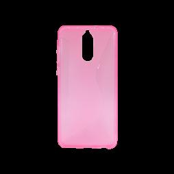 Huawei Mate 10 Lite - Gumiran ovitek (TPU) - roza-prosojen CS-Type