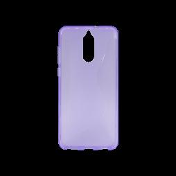 Huawei Mate 10 Lite - Gumiran ovitek (TPU) - vijolično-prosojen CS-Type