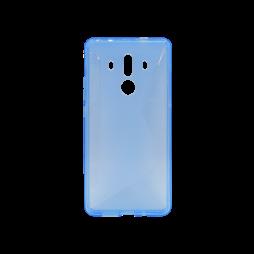 Huawei Mate 10 Pro - Gumiran ovitek (TPU) - modro-prosojen CS-Type
