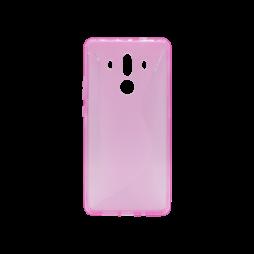 Huawei Mate 10 Pro - Gumiran ovitek (TPU) - roza-prosojen CS-Type