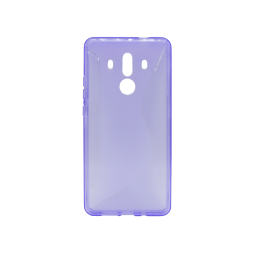 Huawei Mate 10 Pro - Gumiran ovitek (TPU) - vijolično-prosojen CS-Type