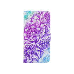 Samsung Galaxy J5 (2017) - Preklopna torbica (WLGP) - Purple lotus