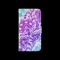 LG K10 (2017) - Preklopna torbica (WLGP) - Purple lotus