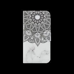 Apple iPhone X / XS - Preklopna torbica (WLGP) - Marble mandala