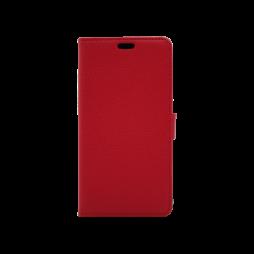 Motorola Moto C - Preklopna torbica (WLG) - rdeča