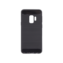 Samsung Galaxy S9 - Gumiran ovitek (TPU) - črn A-Type