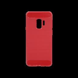 Samsung Galaxy S9 - Gumiran ovitek (TPU) - rdeč A-Type