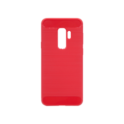 Samsung Galaxy S9+ - Gumiran ovitek (TPU) - rdeč A-Type