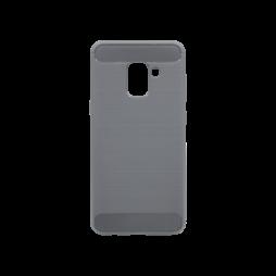 Samsung Galaxy A8 (2018) - Gumiran ovitek (TPU) - siv A-Type