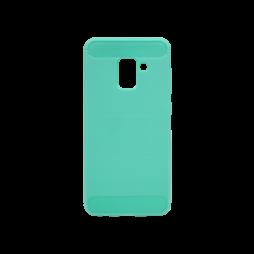 Samsung Galaxy A8 (2018) - Gumiran ovitek (TPU) - zelen A-Type