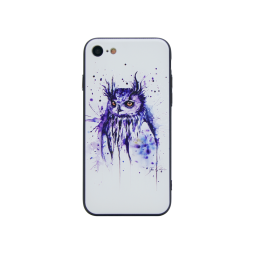 Apple iPhone 7/8 - Gumiran ovitek (TPUP) - Owl