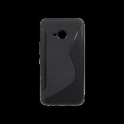 HTC U11 Life - Gumiran ovitek (TPU) - črn CS-Type
